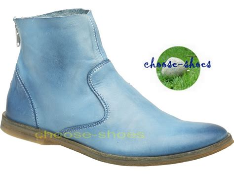 Kickers Boots Kulitt kickers quot ankle boots quot roxannabis 352281 505 blue ebay