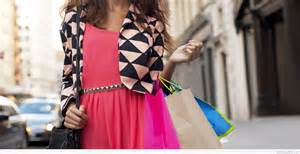 woman shopping bags photo