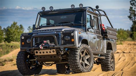 felger land rover defender project viper is the bonkers land rover defender of your