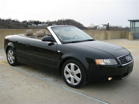 2005 Audi A4 Cabriolet by Sell Used 2005 Audi A4 Cabriolet Convertible 2 Door 1