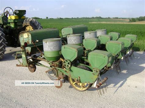 Deere 4 Row Planter by Deere 494a 4 Row Planter