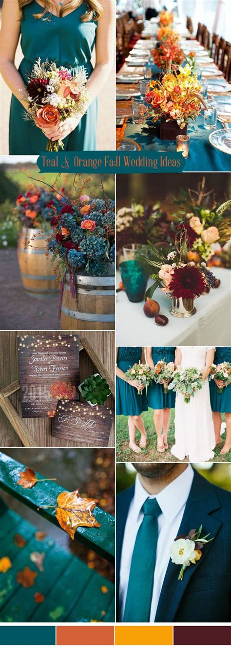 teal wedding colors ten prettiest shades of blue for 2017 wedding color ideas