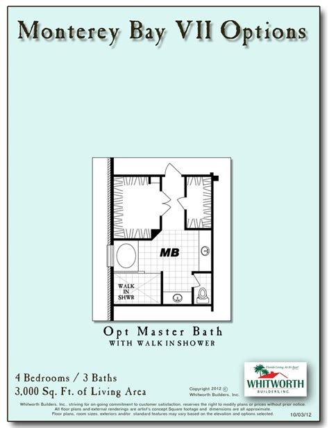 whitworth builders floor plans monterey bay vii options new whitworth floor plans