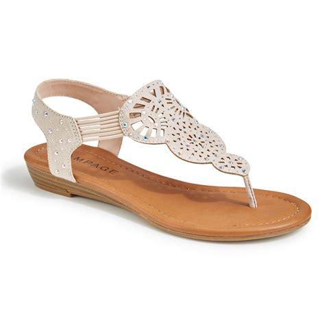 blush sandals rage women s candra rhinestone t sandals blush