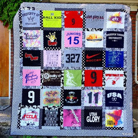 Handmade T Shirt Quilts - my quilt diet custom t shirt quilt