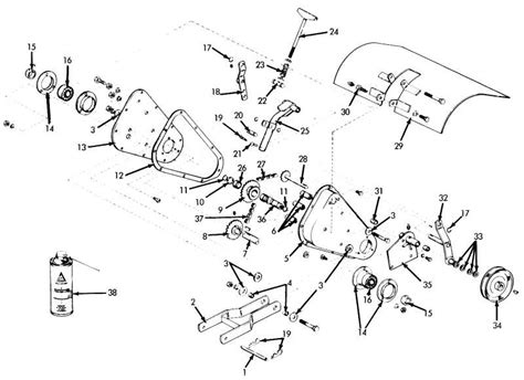 king kutter tiller parts diagram king kutter rotary tiller parts diagram king kutter
