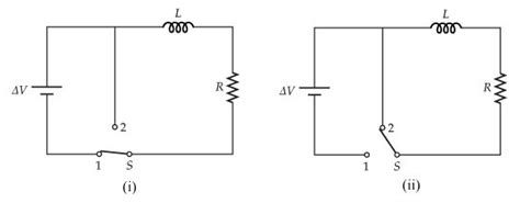 a resistor an inductor and a switch are all connected in series a 167 v battery an inductor and a resistor are c chegg