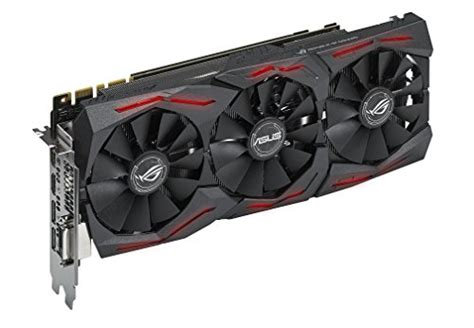 Asus Strix 1080 A8g Graphics Card asus geforce gtx 1080 8gb rog strix graphics card strix