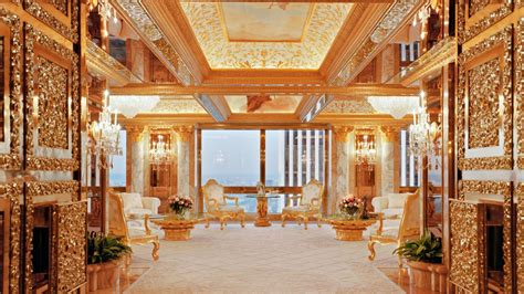 trump tower new york penthouse trump tower inside the president s new york penthouse