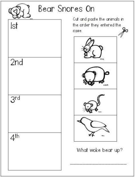 Hibernation Worksheets by 1000 Ideas About Activities Preschool On