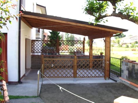 tettoie fai da te tettoia in legno fai da te copertura per cer fai da te