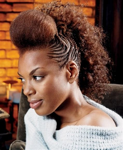Mohawk Hairstyle For Black With Braids by Mohawk Braids 12 Braided Mohawk Hairstyles That Get Attention