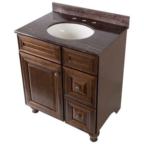home decorators vanity home decorators collection templin 31 in vanity in coffee