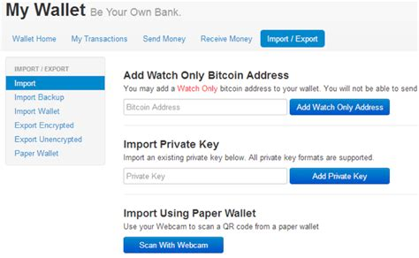 tutorial land of bitcoin tutorial the import export feature in your blockchain