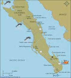 Map Baja Mexico by Way Down South Mexico Way Travels With Two