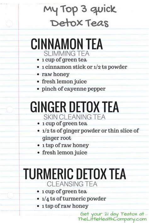 What Detox Works Best by Which Detox Tea Works Best My Top 7 Detox Teas