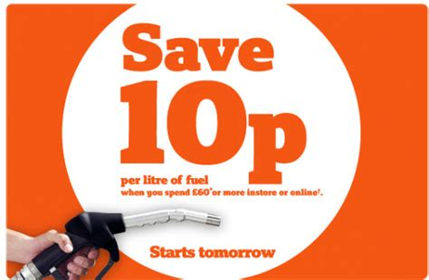 discount vouchers sainsburys discount save 10p per litre of fuel at sainsbury s miss