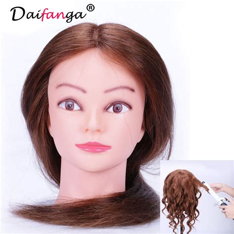 Hairstyle Mannequin Human Hair by Sale Mannequin 100 Human Hair For Curling Iron