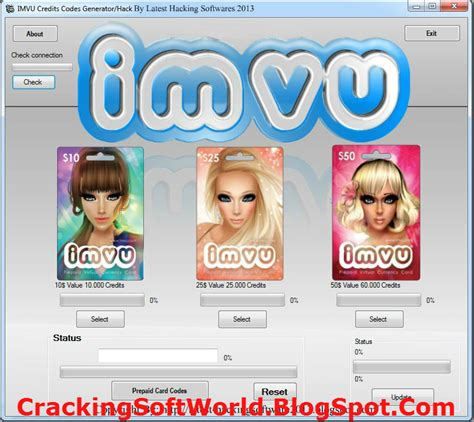 full download imvu hack for credits 2010 imvu credit hack 2014 latest full version hell of softwares