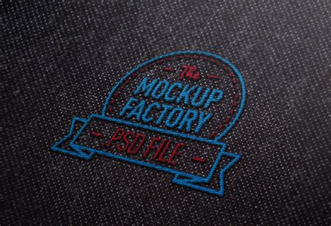 embroidery design mockup embroidered logo mockup on graphic river on behance