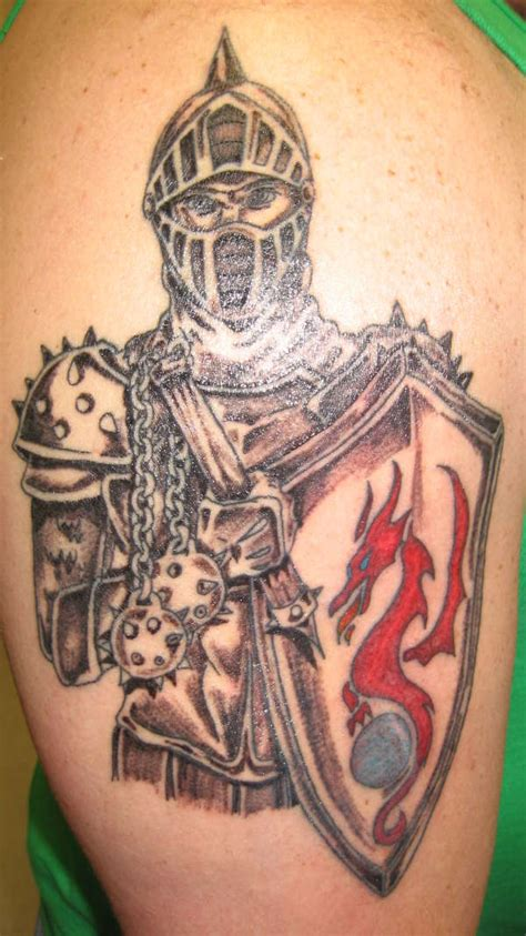 tribal tattoo knight knight tattoo