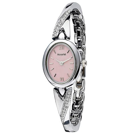 Accurist Ladies' Stone Set Bangle Watch   H.Samuel