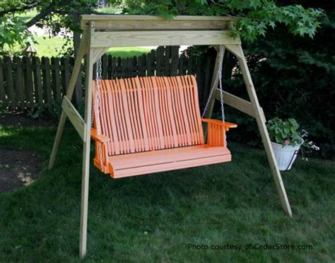 polywood porch swing polywood porch swings for style color and durability