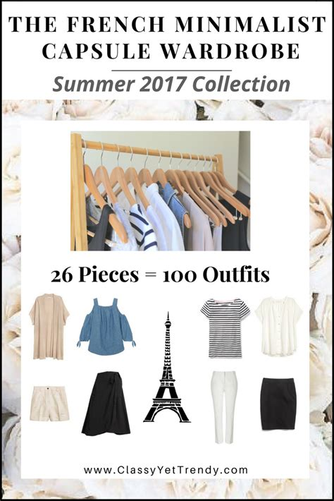 minimalist capsule wardrobe the french minimalist capsule wardrobe summer 2017
