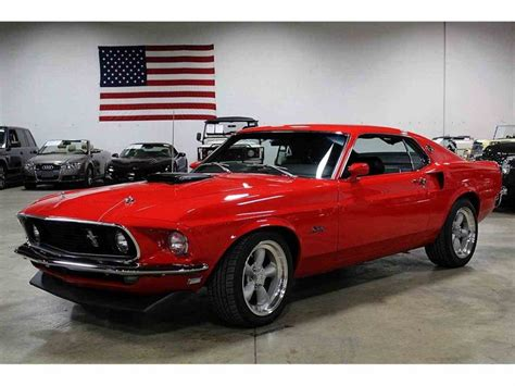cars for sale ford mustang 1969 ford mustang cobra for sale classiccars cc 994598