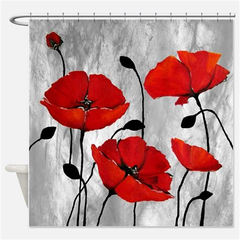 red black shower curtain red shower curtains red fabric shower curtain liner