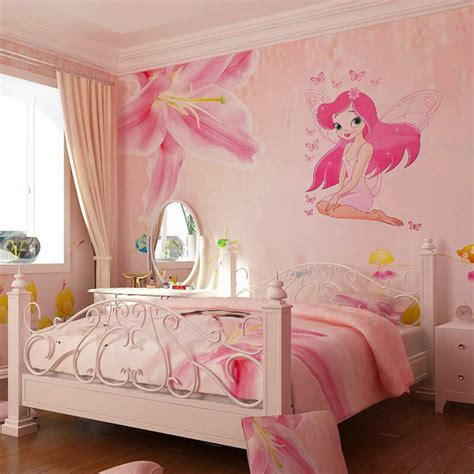 murals for girls bedroom hot sale fairy princess butterly decals art mural wall