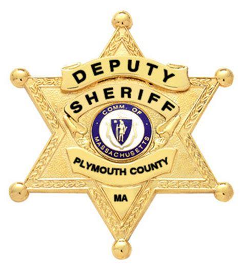 plymouth ma county smith warren plymouth county ma deputy sheriff badge