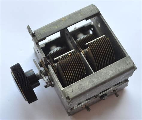 type of capacitor in radio vintage type radio tuning capacitor ebay