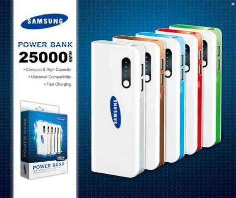 25000 Mahpower Bank Samsung daftar power bank bagus dengan kapasitas besar pusatreview