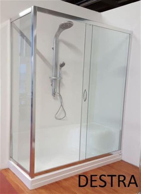 piatto doccia rotondo box doccia per sostituzione vasca incluso di piatto doccia