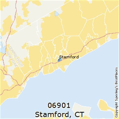 zip code map ct best places to live in stamford zip 06901 connecticut