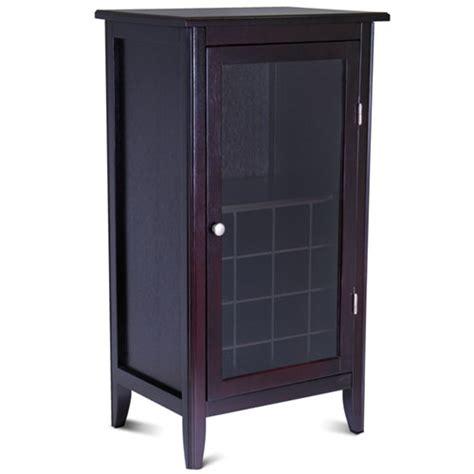 glass door cabinet walmart 16 bottle wine cabinet with glass door espresso walmart