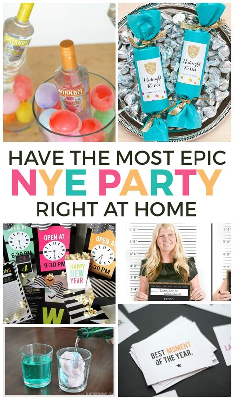 themes for new years eve party at home 20 ways to have an epic at home new years eve party