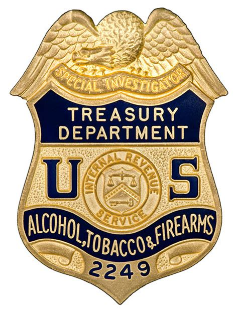 tobacco atf history of the badges bureau of tobacco