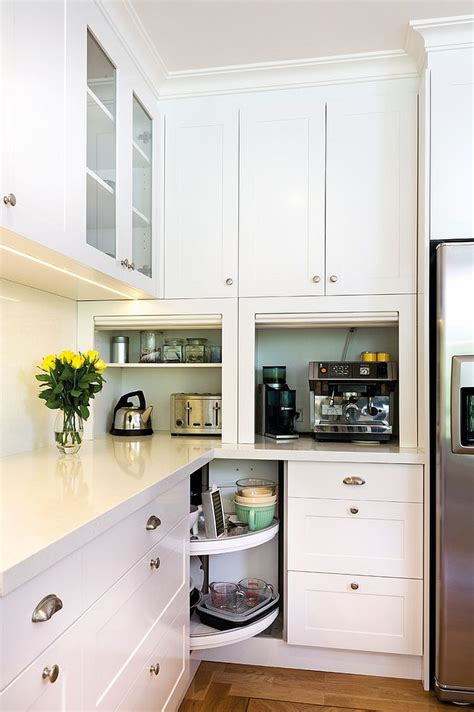 Corner Kitchen Cabinets Design 30 Corner Drawers And Storage Solutions For The Modern Kitchen