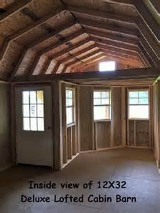 Small Barns Turned Into Homes - premier deluxe lofted barn cabin storage building