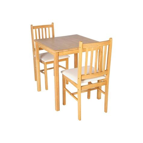 Argos Bistro Table Buy Home Kendall Square Solid Wood Dining Table 2 Chairs At Argos Co Uk Your