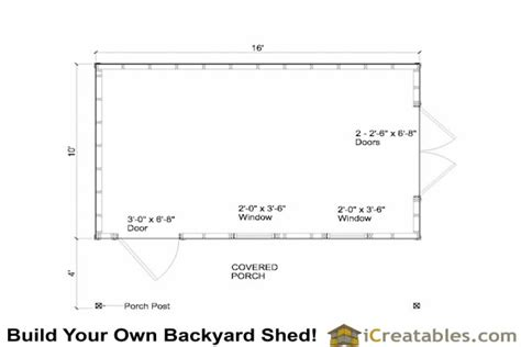 20x30 Garage Plans by Wooden Shed 10 X 12 Gambrel Shed Plans 20x30 Garage