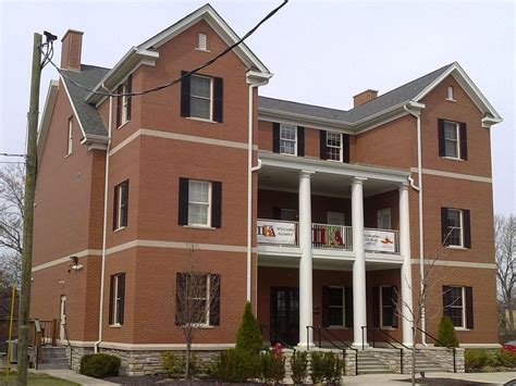 Of Cincinnati Housing by Going Fraternity Houses