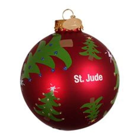 st jude ornament i have lots of different ones from st