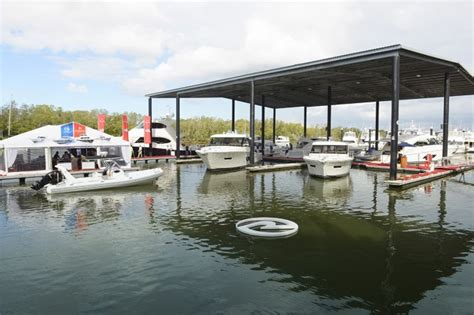 boat building companies gold coast riviera s third annual festival of boating a resounding