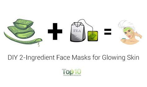 best diy mask for glowing skin diy 2 ingredient masks for glowing flawless skin