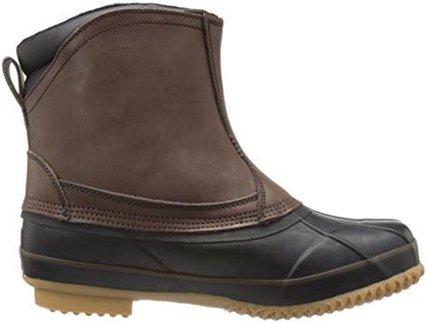 mens slip on duck boots northside fairbanks s waterproof slip on duck boot