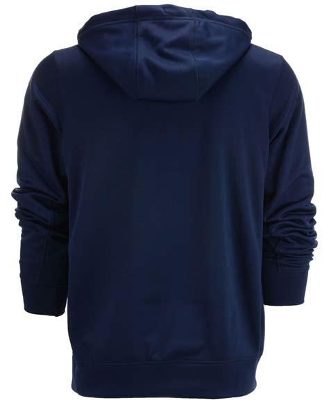 Sweater Logo Nike Keren lyst nike s new york yankees logo performance hoodie in blue for