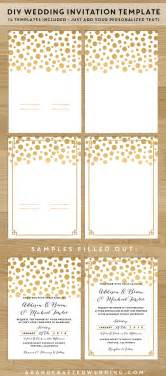 Diy Wedding Invitation Set Save Money On Your Wedding Invites With These Printable Templates Invitation Templates With Photos